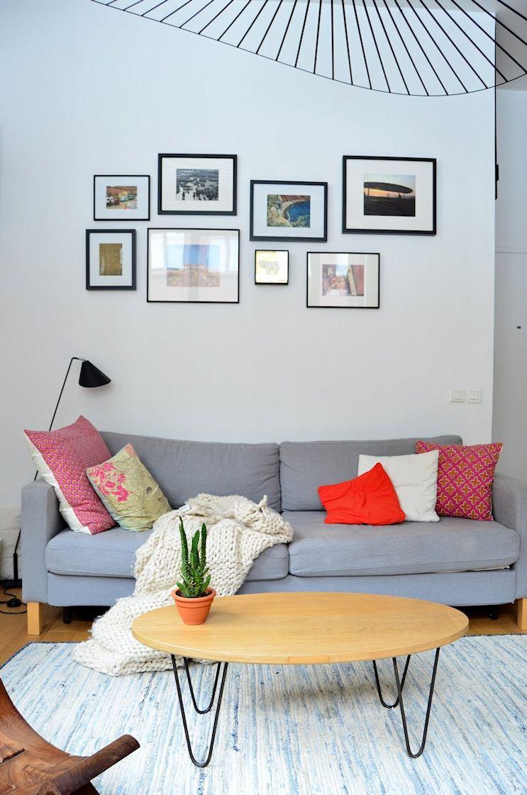 Deco nórdica y vintage en un departamento pequeño de 42 metros 3