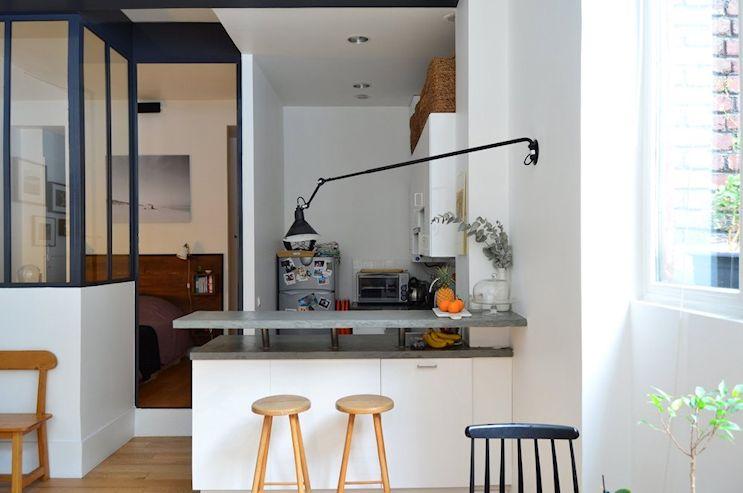 Deco nórdica y vintage en un departamento pequeño de 42 metros 6