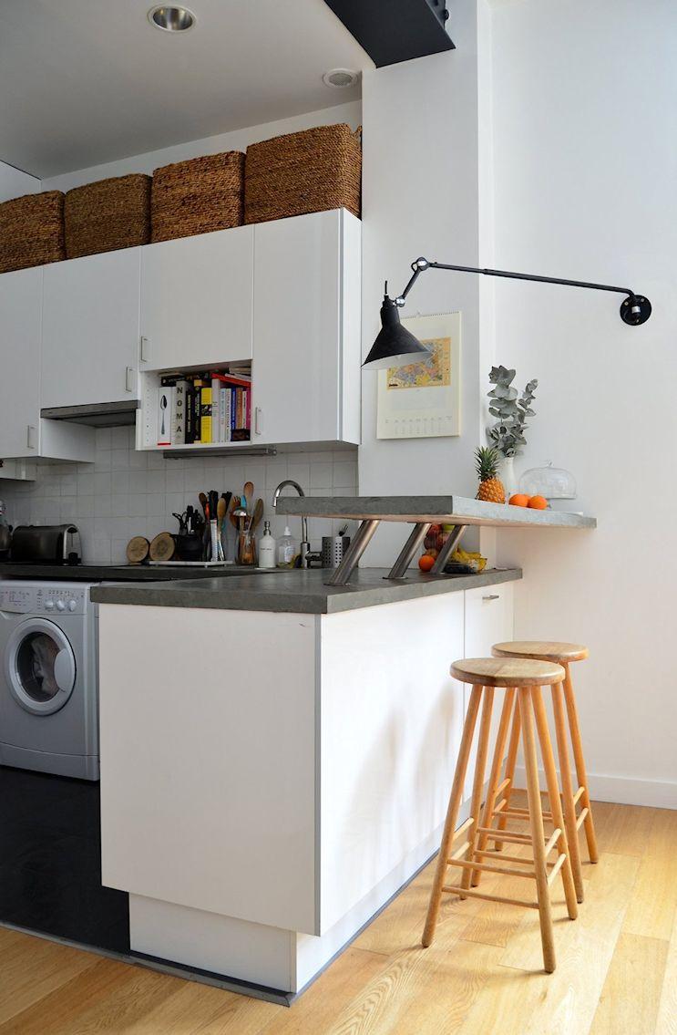 Deco nórdica y vintage en un departamento pequeño de 42 metros 7
