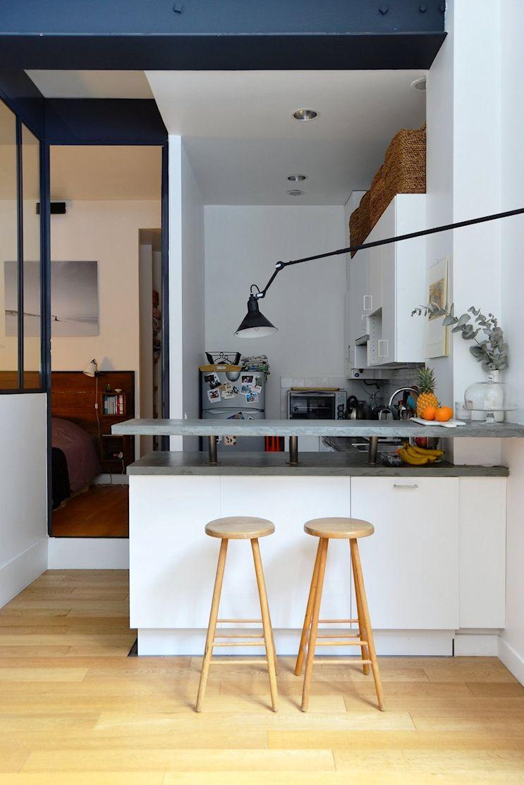 Deco nórdica y vintage en un departamento pequeño de 42 metros 8
