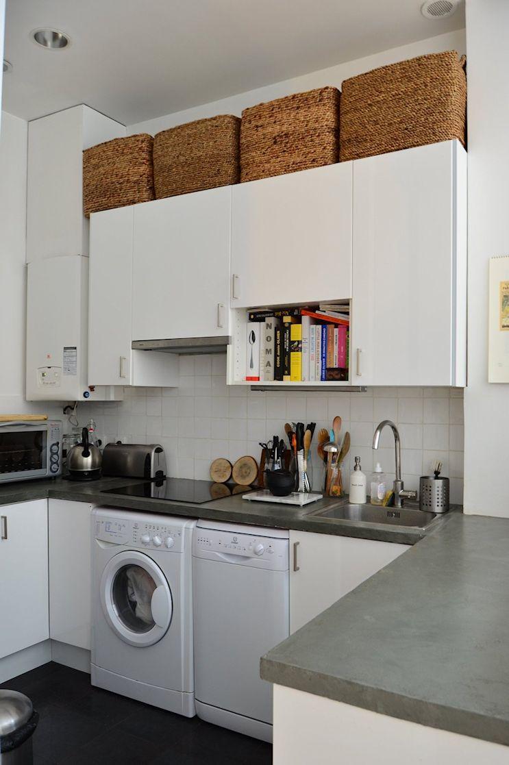 Deco nórdica y vintage en un departamento pequeño de 42 metros 9