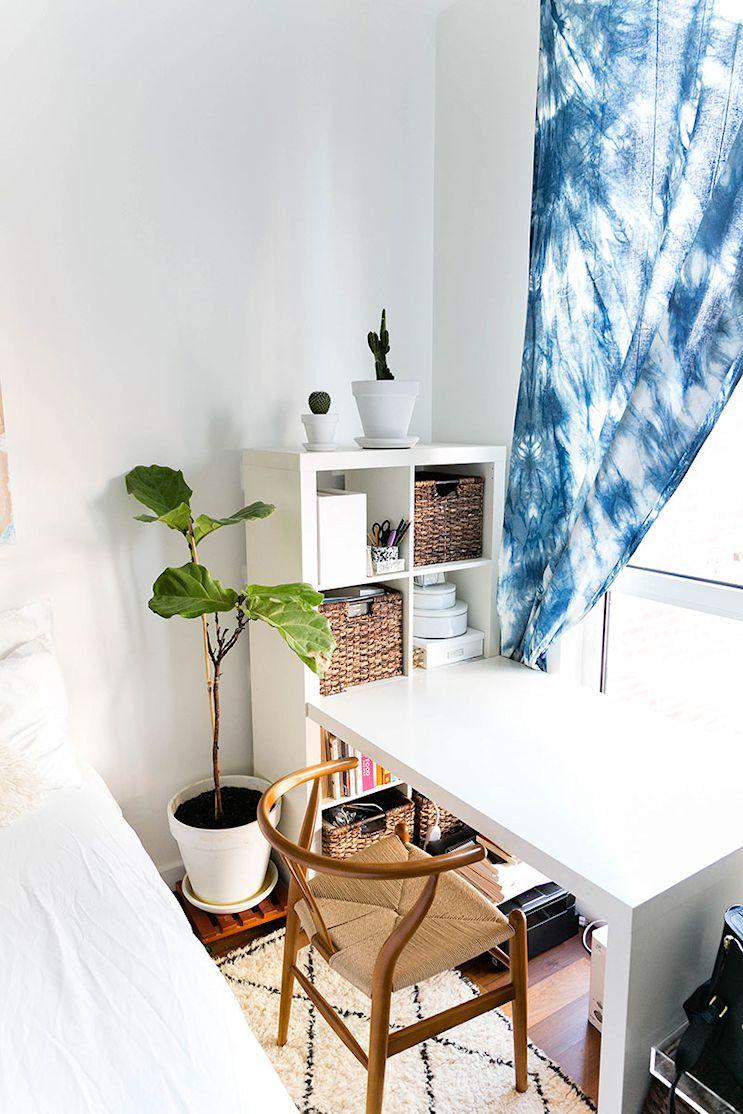 Decoración de departamentos pequeños de 2 ambientes 15