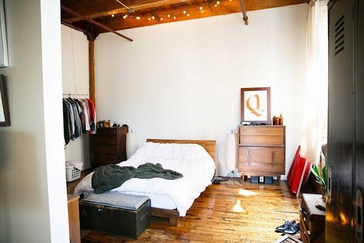 Loft de estilo industrial y vintage con ideas para dividir ambientes 10