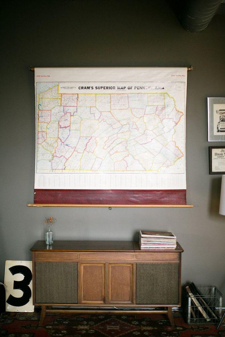 Loft de estilo industrial y vintage con ideas para dividir ambientes 15