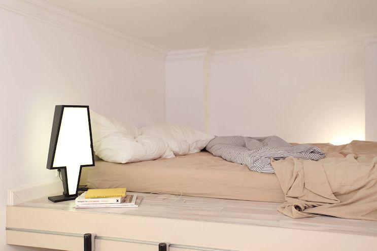 Entrepiso para el dormitorio minimalista
