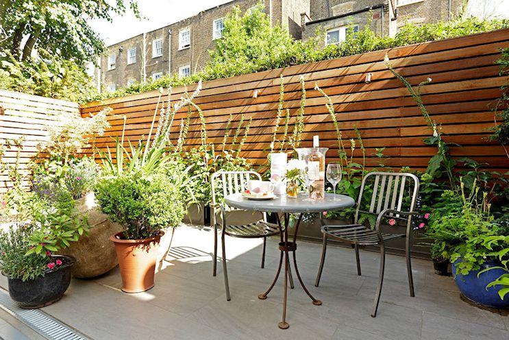 Patios y jardines pequeños: diseño con macetas 3