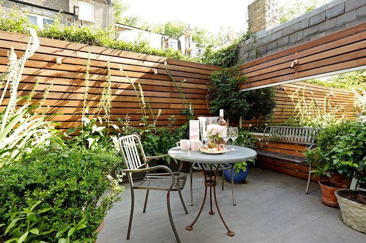 Patios y jardines pequeños: diseño con macetas 4