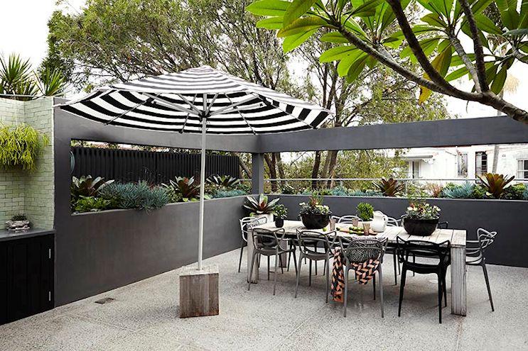 Diseño de terrazas modernas 4