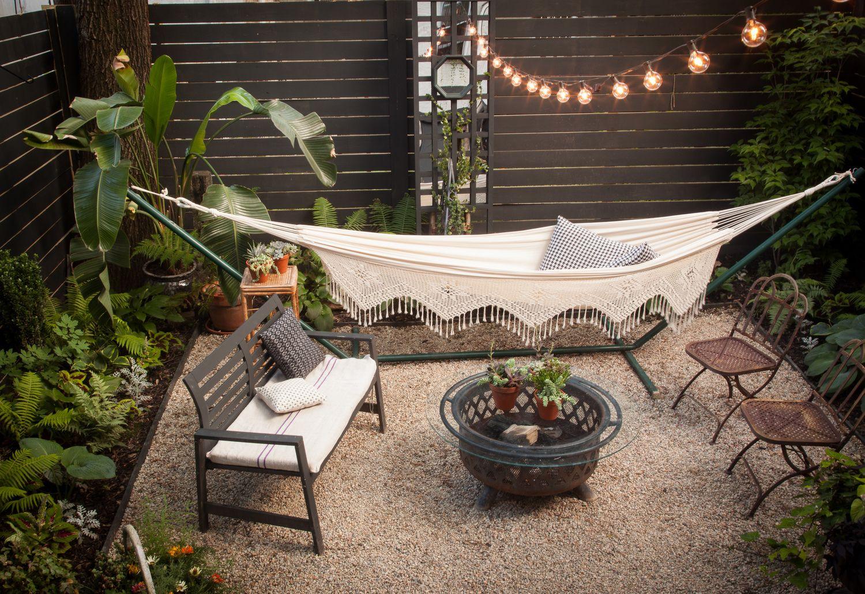 Dise o de exteriores el antes y despu s de un patio peque o for Construir una piscina en un patio pequeno