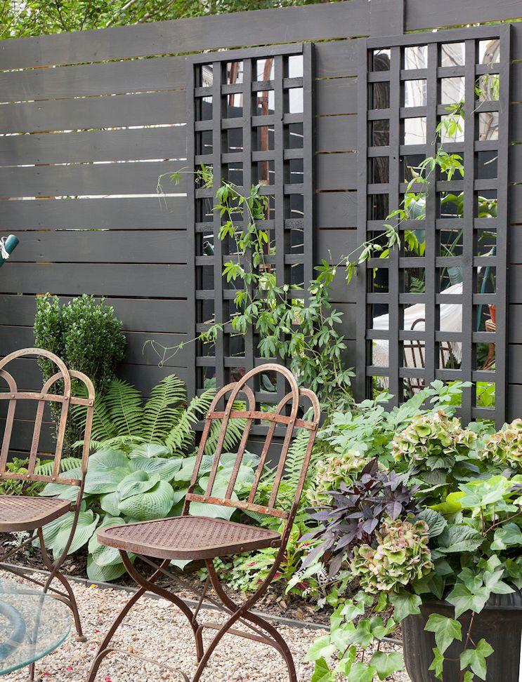 Diseño de exteriores: el antes y después de un patio pequeño 3