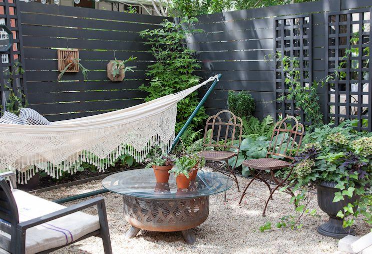 Diseño de exteriores: el antes y después de un patio pequeño 7