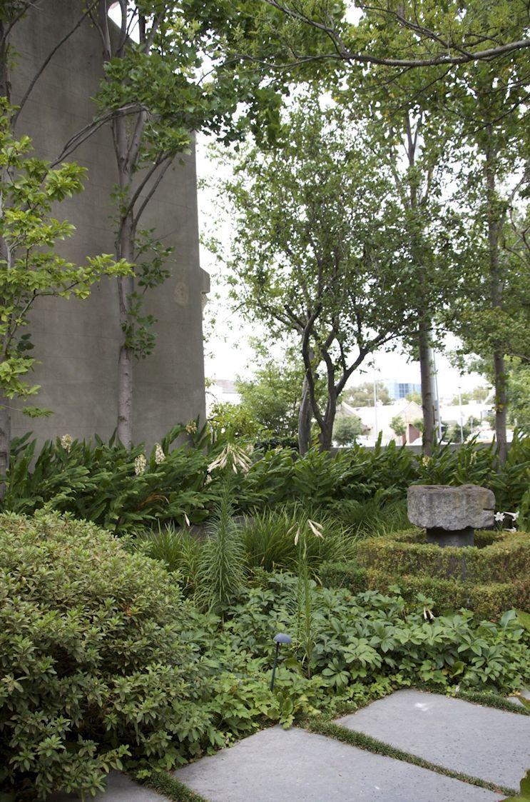 Jardín de estilo inglés contemporáneo 4
