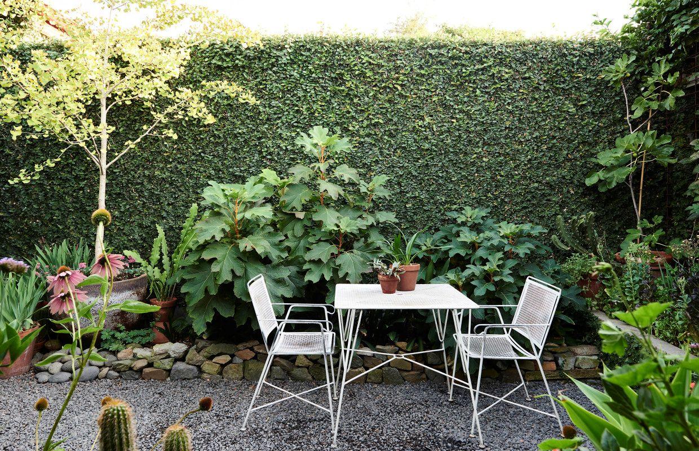 Dise o de jardines un jard n peque o y frondoso de 24 metros for Como arreglar un jardin pequeno