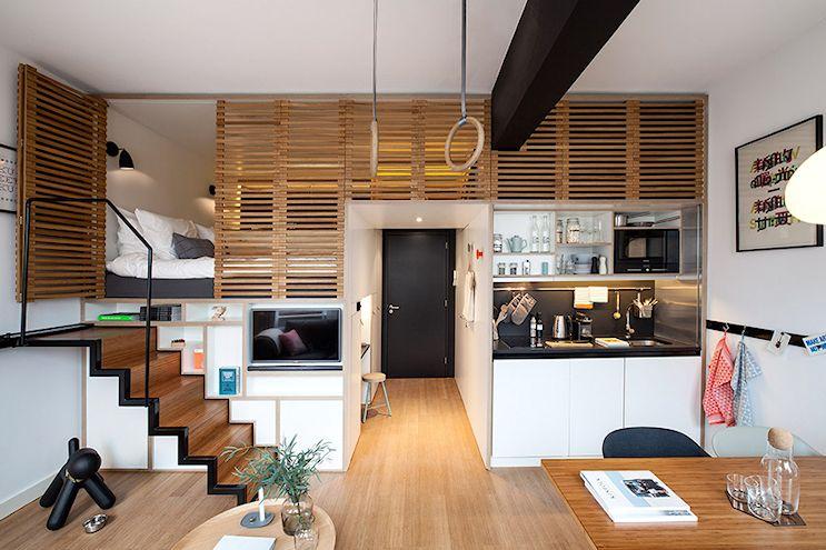 Mini loft moderno en Amsterdam 2