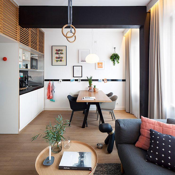 Mini loft moderno en Amsterdam 3