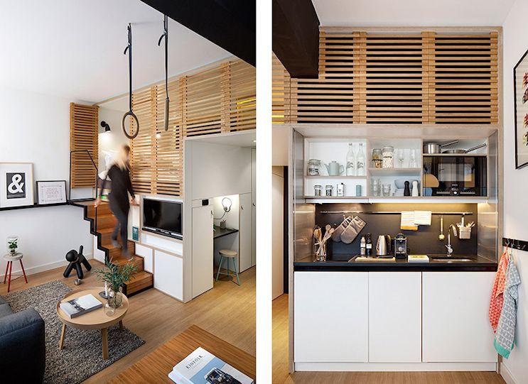 Mini loft moderno en Amsterdam 4