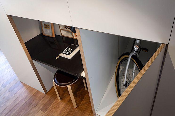 Mini loft moderno en Amsterdam 6