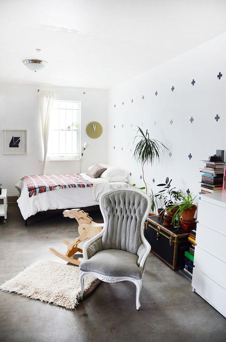 Dormitorio del monoambiente