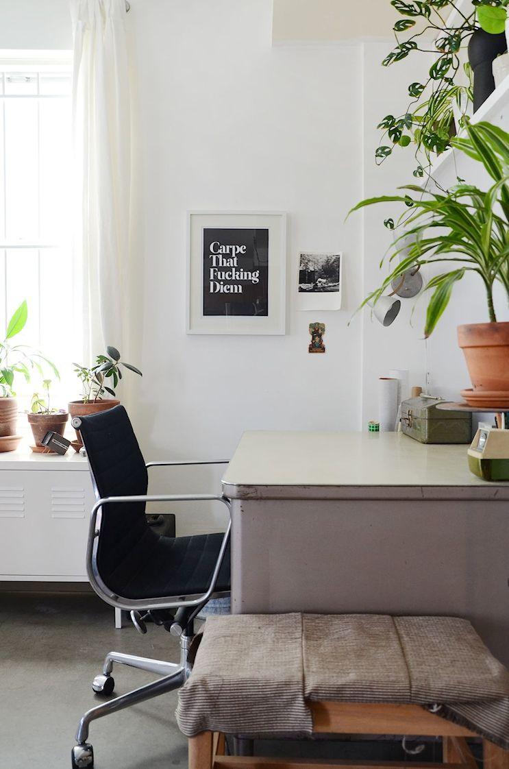 Decorar un monoambiente con muebles usados de segunda mano