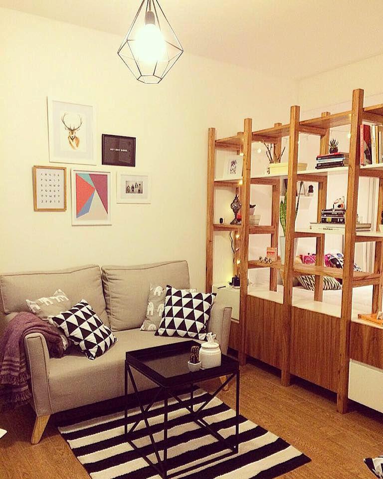 Decoraci n de un monoambiente por mabstab estilos deco - Imagenes de muebles ...