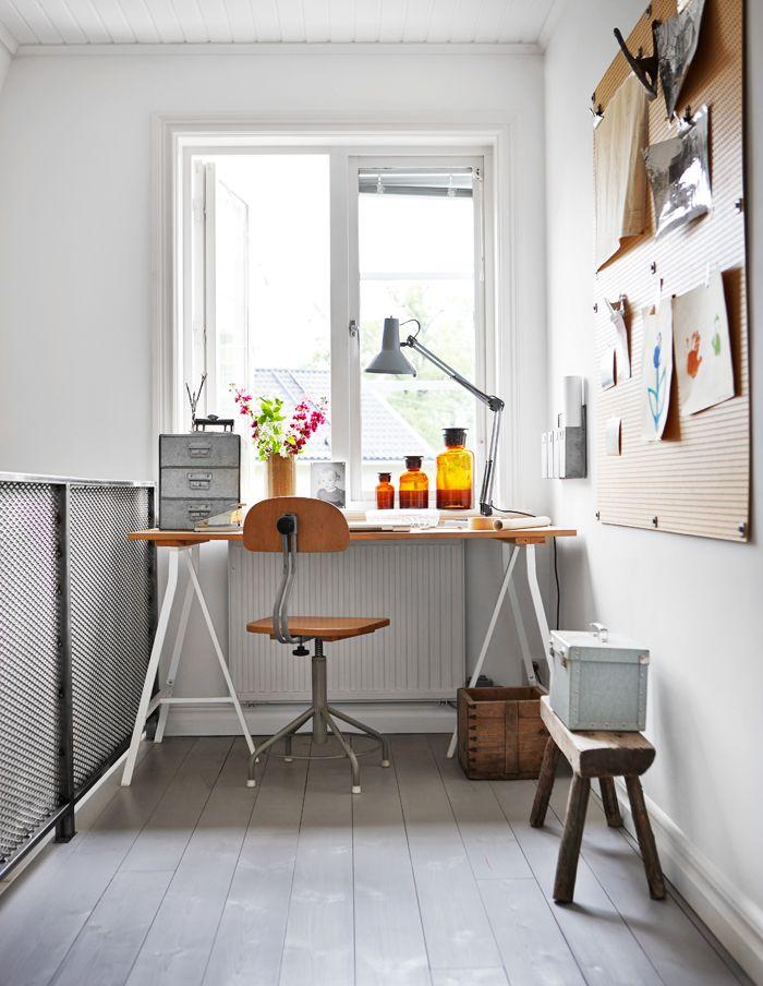 Sector del escritorio de la casa