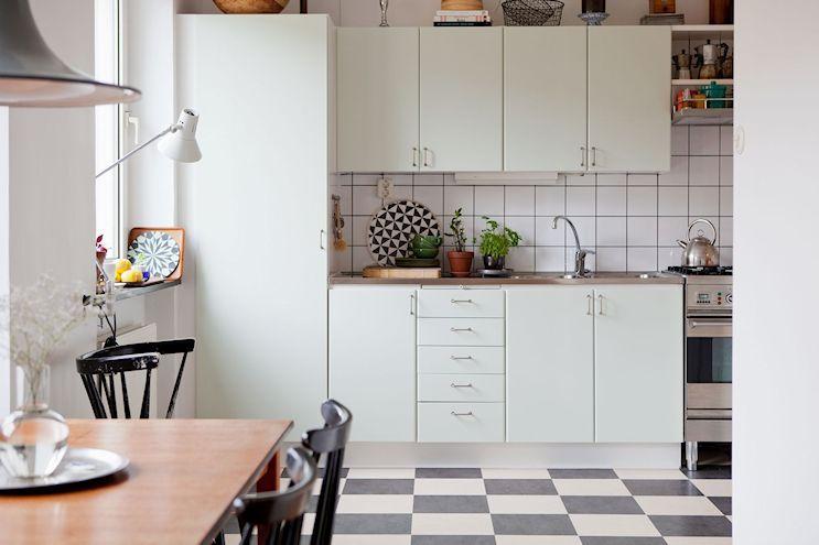 Departamento de 2 ambientes en estilo nórdico y vintage 10
