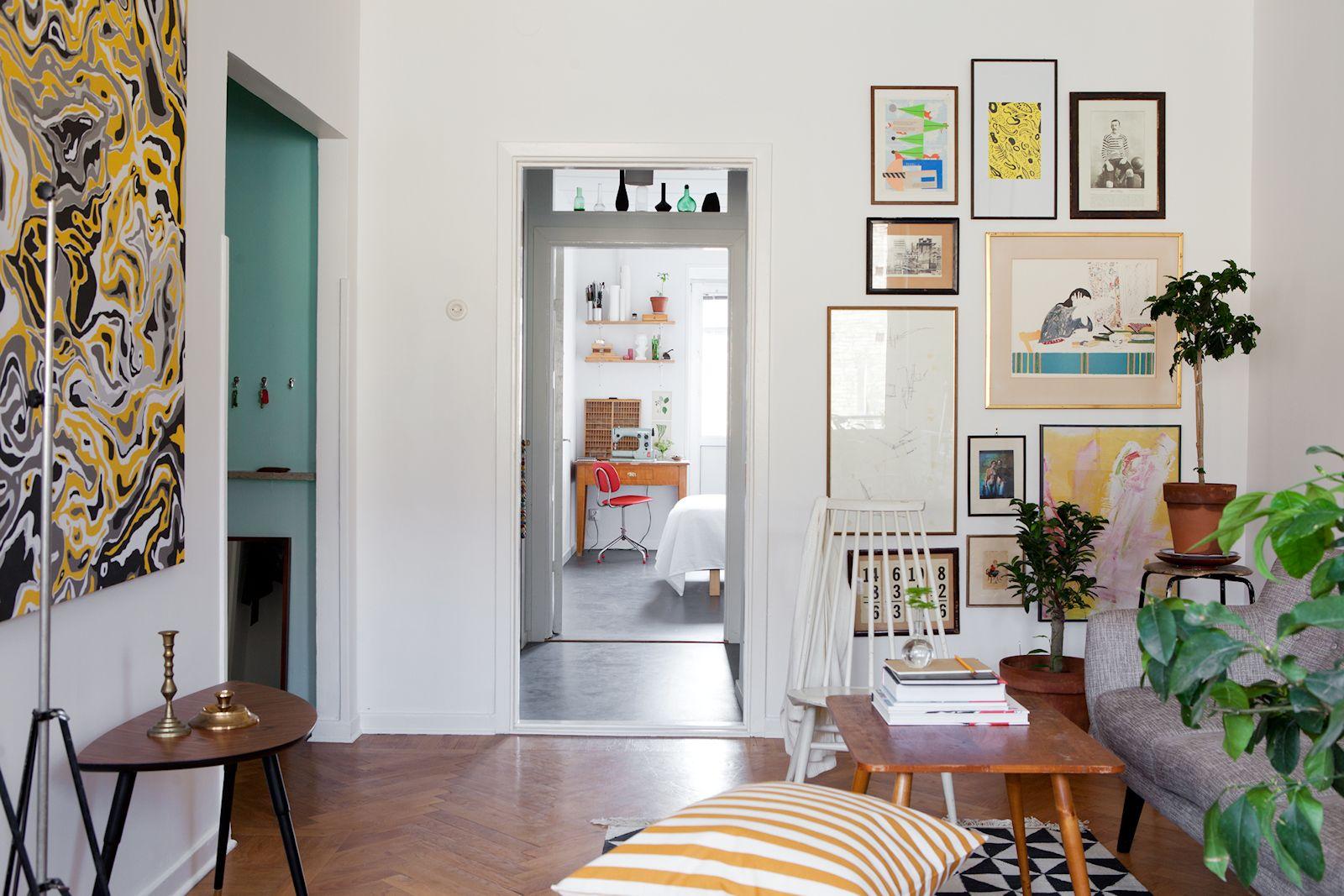 Departamento de 2 ambientes en estilo n rdico y vintage - Estilo nordico decoracion ...