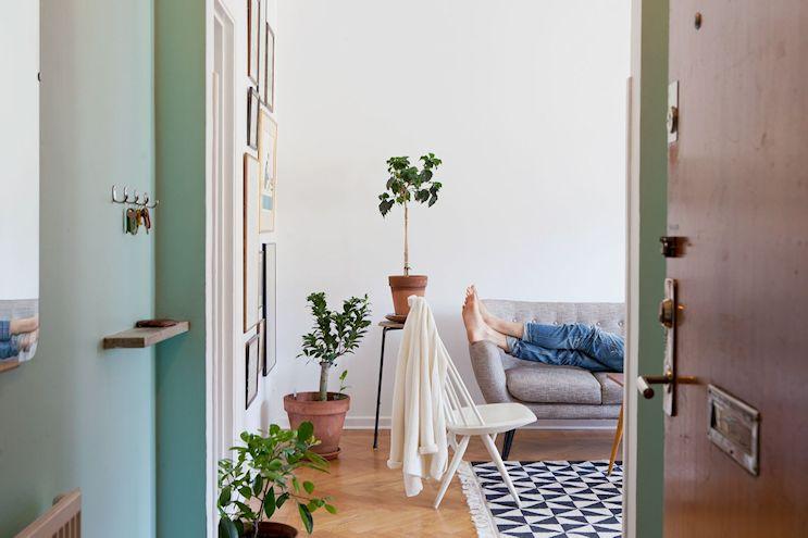 Departamento de 2 ambientes en estilo nórdico y vintage 5