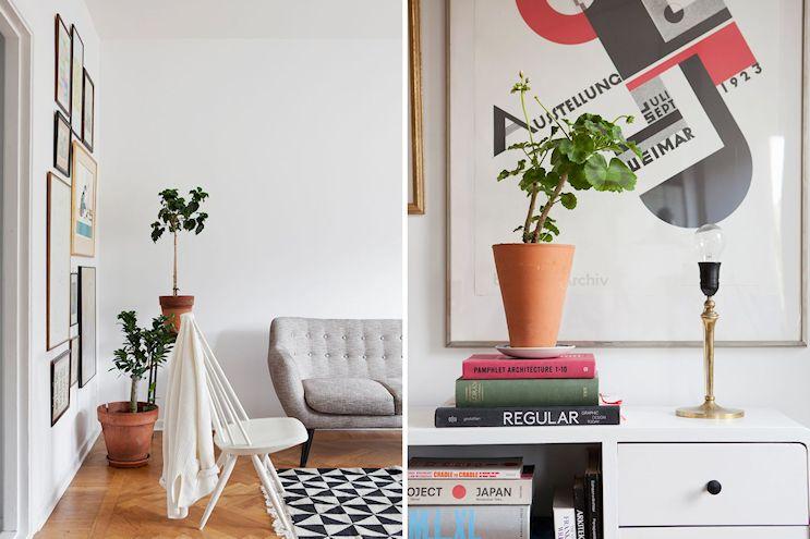 Departamento de 2 ambientes en estilo nórdico y vintage 6