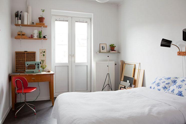 Departamento de 2 ambientes en estilo nórdico y vintage 8