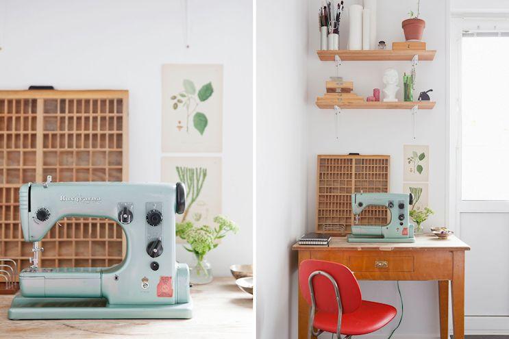 Departamento de 2 ambientes en estilo nórdico y vintage 9