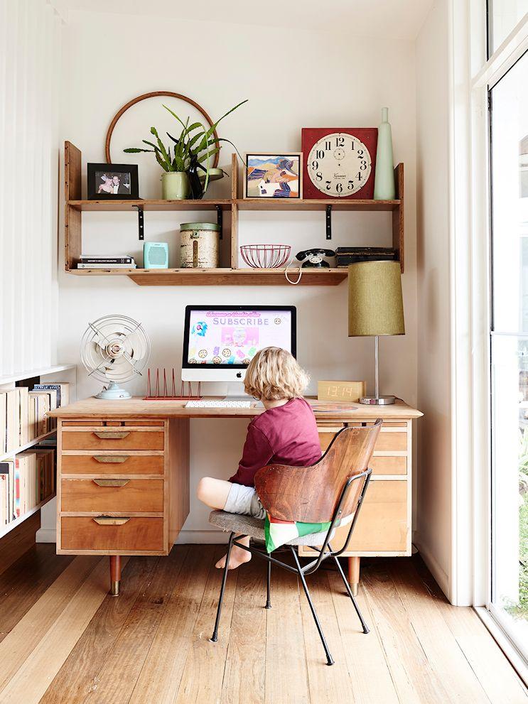 Decoración de casas estilo mid century modern con muebles vintage 12