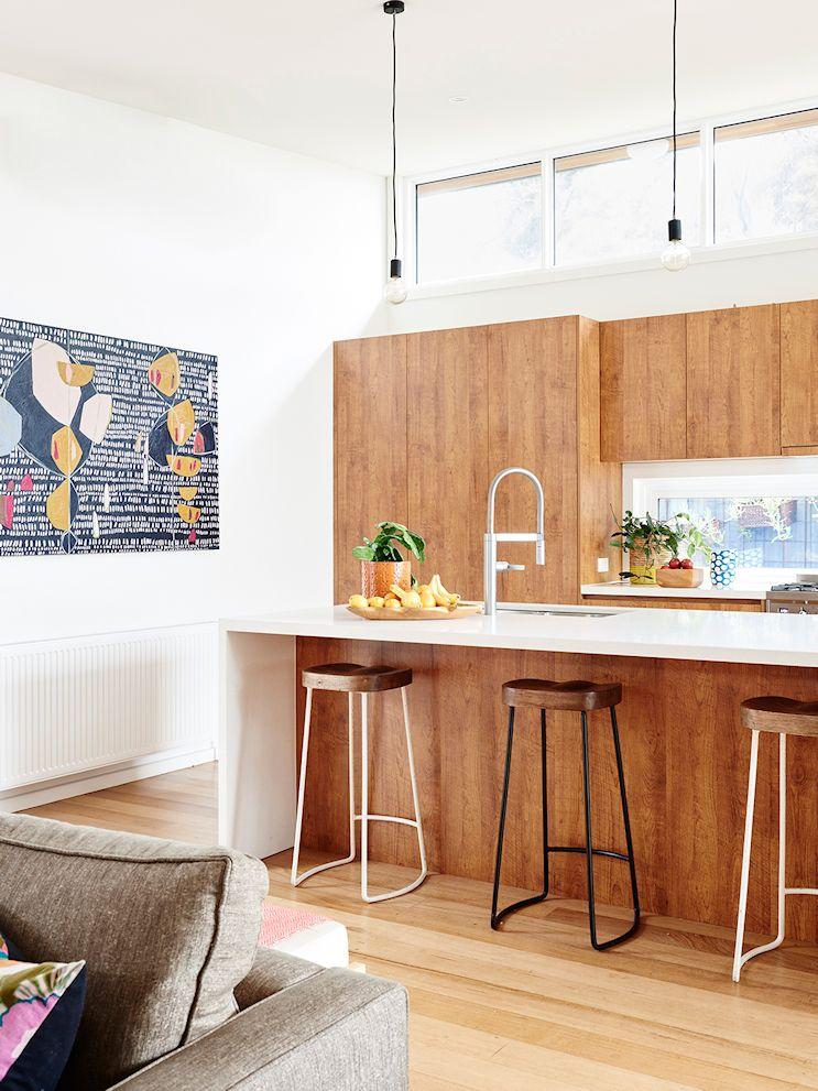 Decoración de casas estilo mid century modern con muebles vintage 2