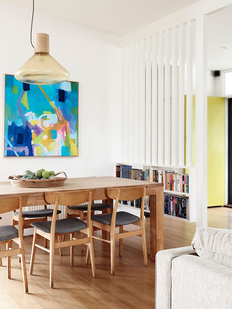 Decoración de casas estilo mid century modern con muebles vintage 3