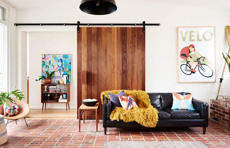 Decoración de casas estilo mid century modern con muebles vintage 5