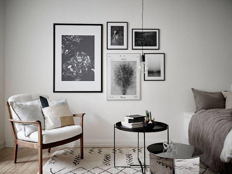 Living / dormitorio del monoambiente