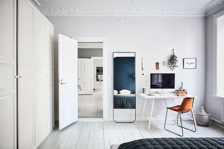 Escritorio y lugar de trabajo en el dormitorio