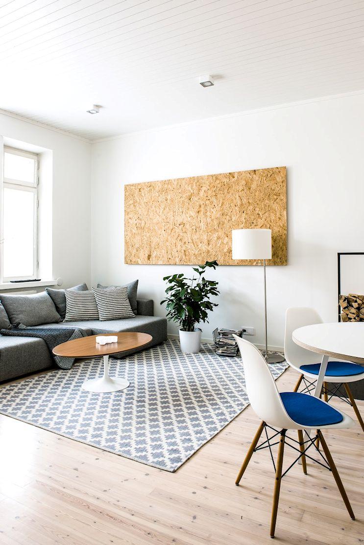 Decoración de departamentos minimalistas: 2 ambientes con mucho estilo 1
