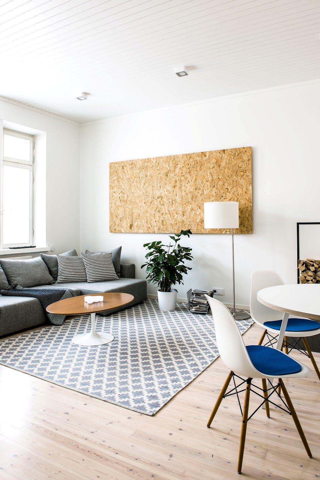 Decoraci n de departamentos minimalistas 2 ambientes con for Ideas para decorar ambientes pequenos