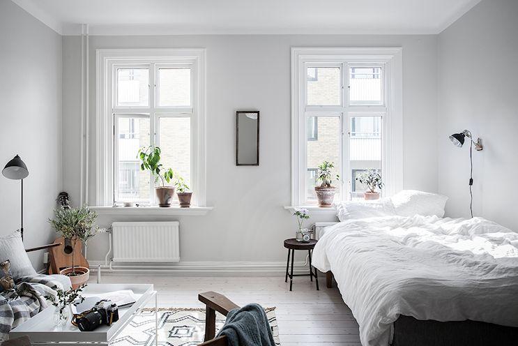 Deco en espacios reducidos: monoambiente nórdico de 35 metros²