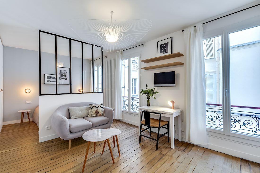 monoambientes peque os 2 formas de separar espacios. Black Bedroom Furniture Sets. Home Design Ideas