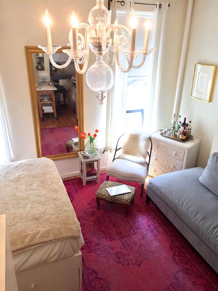 Las alfombras son buenas para sectorizar áreas y aportar texturas y colores a la decoración sin ocupar espacio