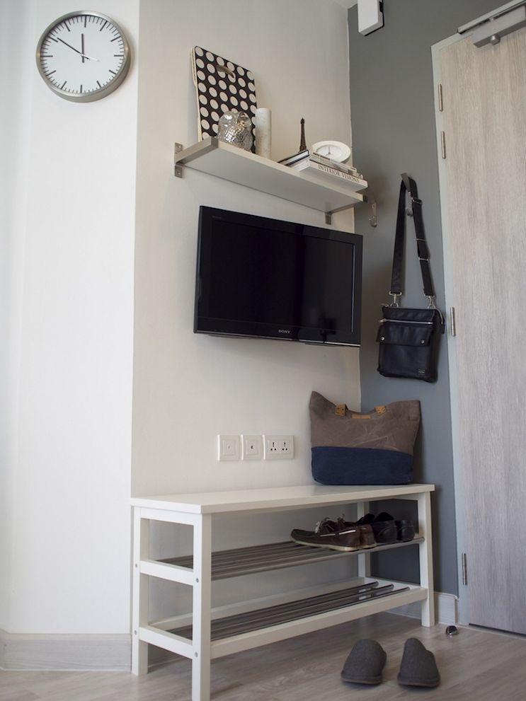 Aprovechar rincones con muebles con múltiples propósitos es la clave en la decoración de espacios chicos