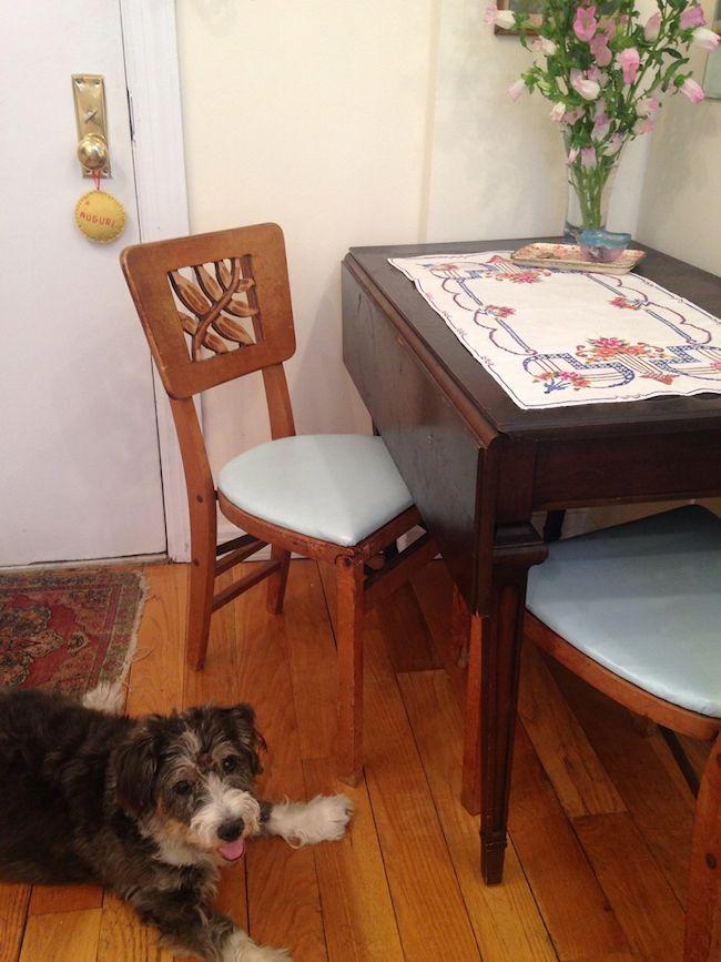 Las mesas extensibles son ideales para ambientes chicos