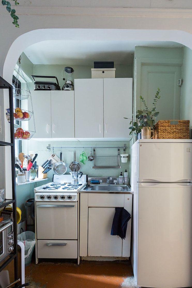 Decoración en espacios reducidos: Monoambiente compacto y cómodo de 25 metros² 13