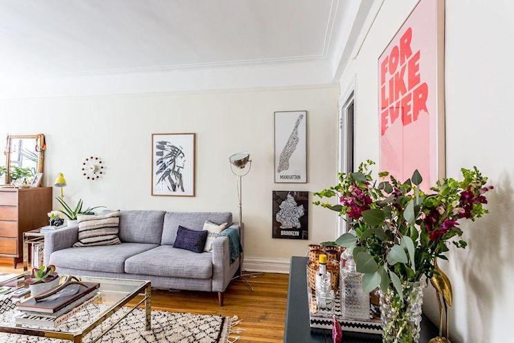 Decoración en espacios reducidos: Monoambiente compacto y cómodo de 25 metros² 1