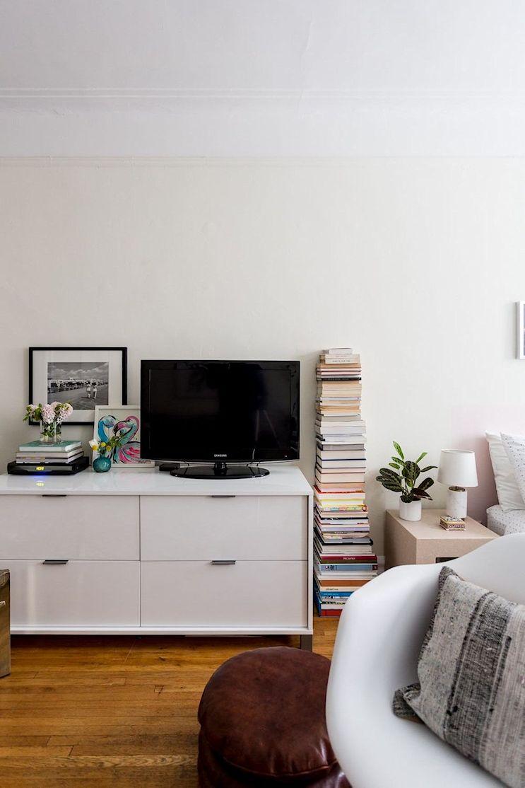 Decoración en espacios reducidos: Monoambiente compacto y cómodo de 25 metros² 8