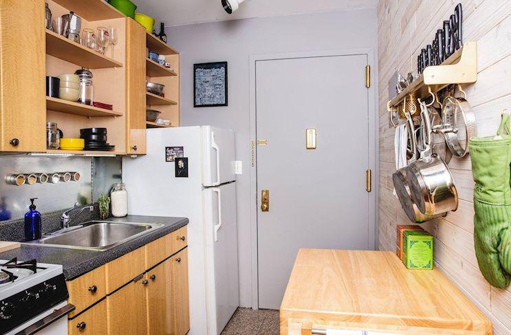 Ecléctico y moderno: departamento pequeños de 39 metros cuadrados con entrepiso 7