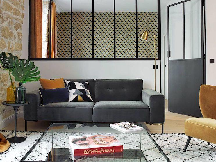 De monoambiente a 2 ambientes: departamento en estilo loft con decoración ecléctica 1