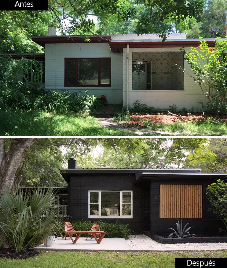 Diseño de exteriores: transformación total y a bajo costo